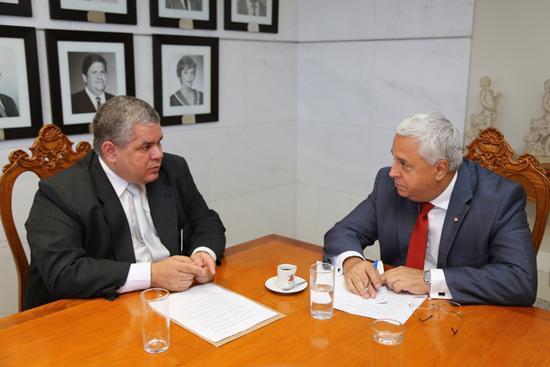 Presidente do TRT recebe comissão da OAB/MG (imagem 1)