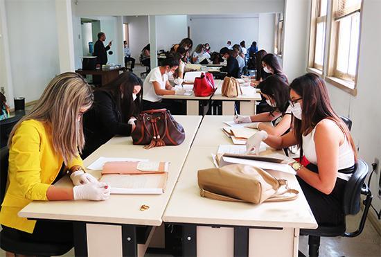 Universitários de Formiga têm contato com a prática processual e a história do trabalho (imagem 1)