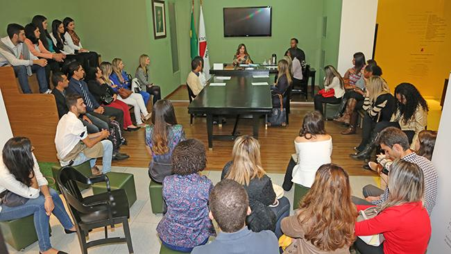 Universitários conhecem TRT por meio do Programa Justiça e Cidadania (imagem 1)