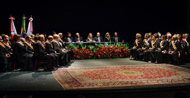 Posse dos dez novos desembargadores em sessão solene do Tribunal Pleno (imagem 1)