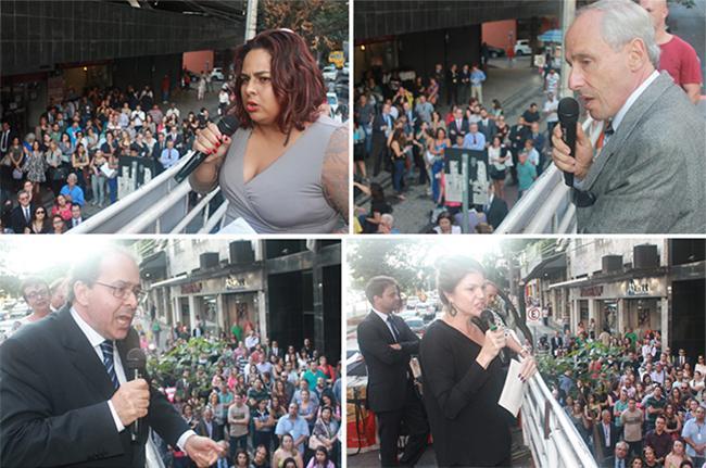 Protesto denuncia desmonte da Justiça do Trabalho (imagem 1)