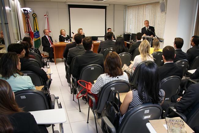 Palestra marca solenidade de encerramento do curso para novos magistrados (imagem 4)