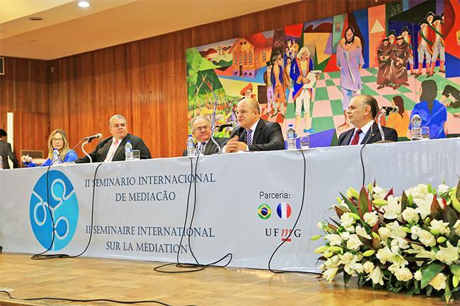 Ministro do TST participa do II Seminário Internacional de Mediação em BH (imagem 1)