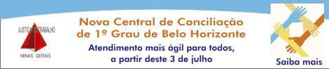 TRT-MG inaugura hoje Central de Conciliação de 1º Grau (imagem 1)