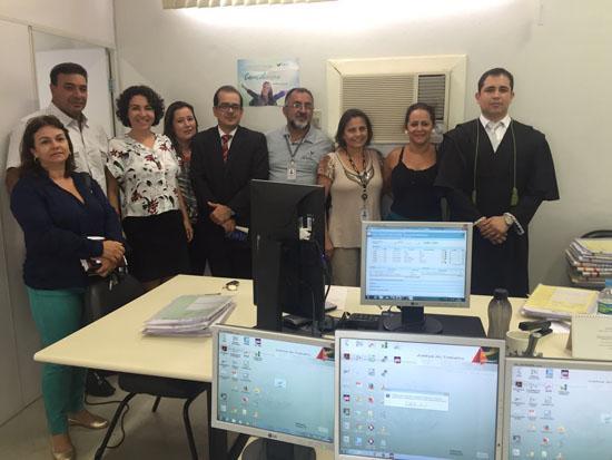 Vara de Monte Azul realiza primeira audiência pelo PJE (imagem 1)