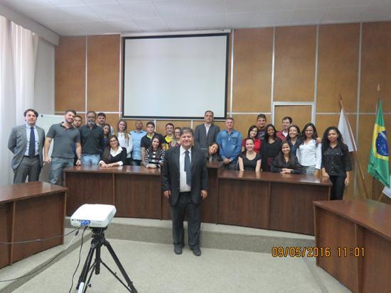 Alunos da PUC Minas visitam Laboratório de Atividades Judiciais (imagem 1)