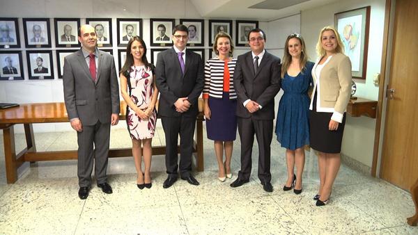 Presidente do TRT dá posse a seis juízes por permuta (imagem 2)