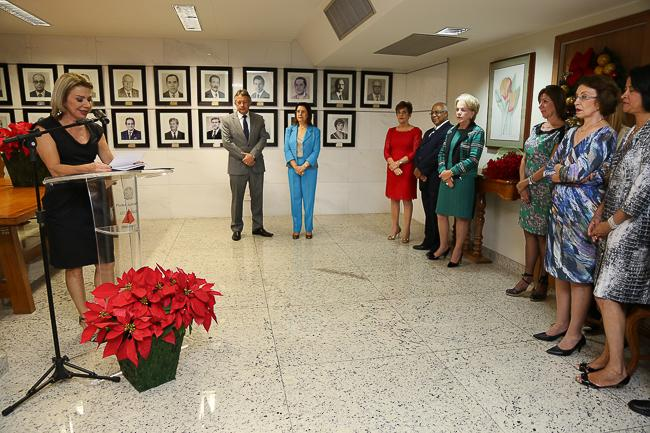 Desembargadora Deoclecia Amorelli Dias passa a integrar galeria de presidentes do TRT-MG (imagem 1)