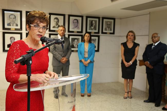 Desembargadora Deoclecia Amorelli Dias passa a integrar galeria de presidentes do TRT-MG (imagem 2)