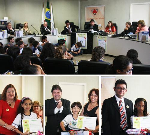 Concurso de desenho sobre conciliação premia alunos do Pandiá Calógeras no TRT (imagem 2)