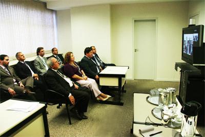 TRT participa de videoconferência (imagem 1)