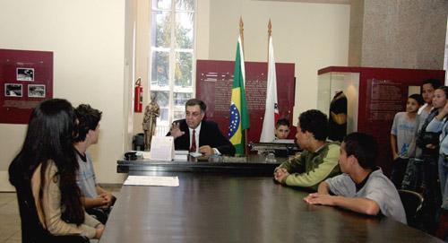 Presidente da Amatra3 participa do projeto Justiça e Cidadania (imagem 1)