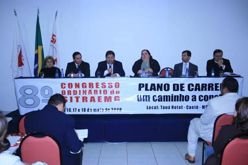 Presidente do TRT-MG abre congresso do Sitraemg (imagem 1)