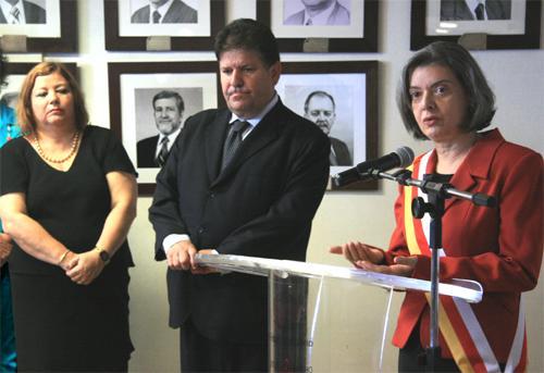 Ministra do STF é homenageada pela Justiça do Trabalho de Minas (imagem 1)