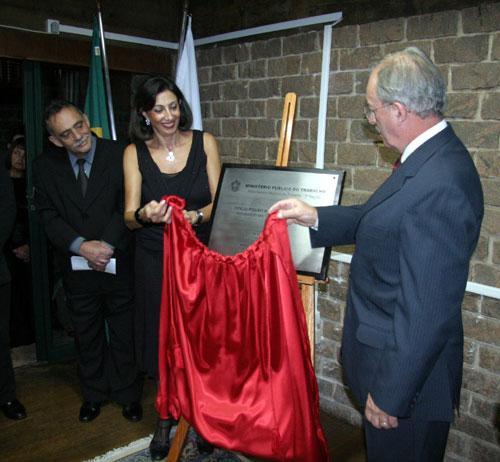 Presidente do TRT prestigia inauguração de Oficío do MPT em Pouso Alegre (imagem 1)