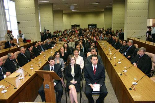 Juízes recém-empossados fazem curso na Enamat (imagem 1)