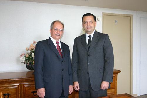Presidente do TRT empossa juiz removido (imagem 1)