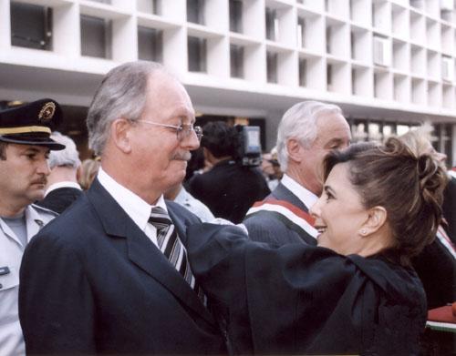 Presidente do TRT recebe comenda em Brasília (imagem 1)