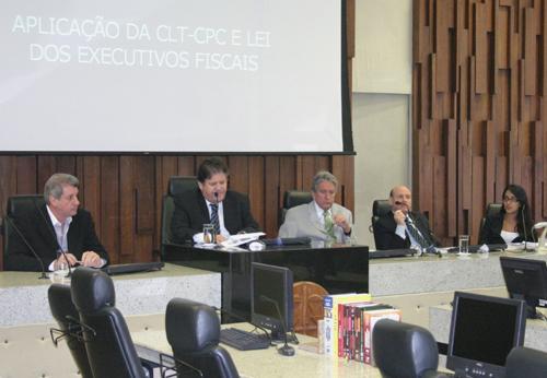 Magistrados e servidores discutem a execução processual trabalhista (imagem 1)