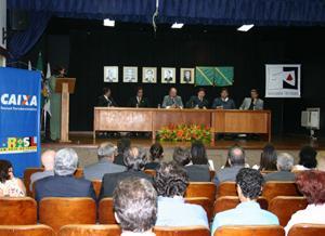 Panorâmica do auditório da Escola Judicial