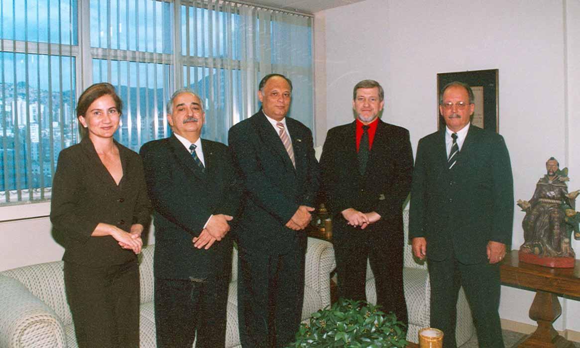 Presidente do TRT recebe representantes da CEF (imagem 1)
