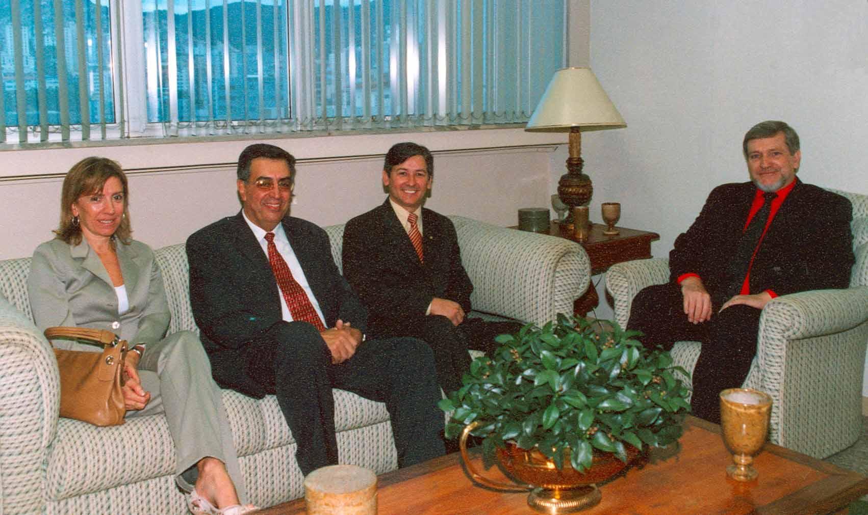 Presidente do TRT recebe diretoria da Amatra3 (imagem 1)