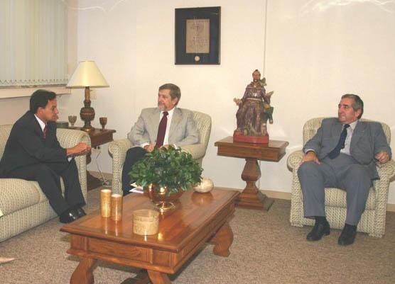 Senador Aelton Freitas visita o TRT de Minas Gerais (imagem 1)