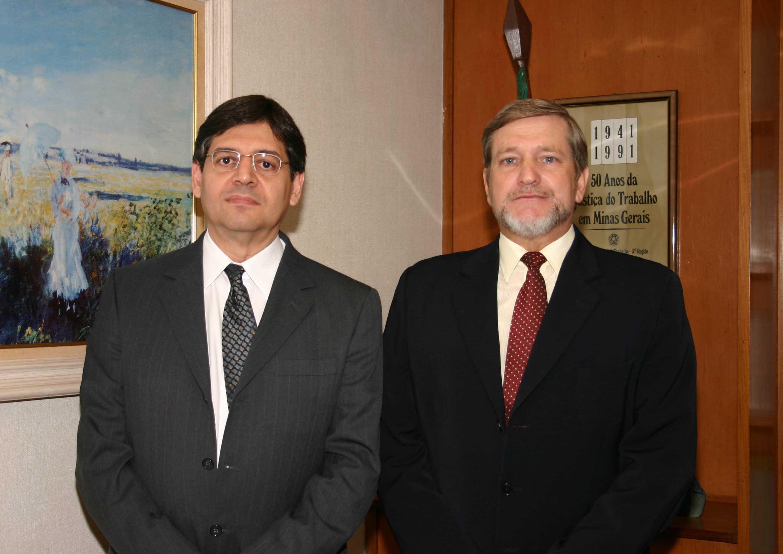 Juiz César Pereira da Silva Machado Júnior; Juiz Presidente Márcio Ribeiro do Valle