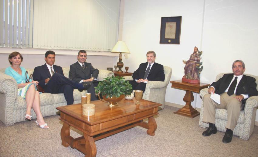 Procuradores da União visitam o TRT (imagem 1)